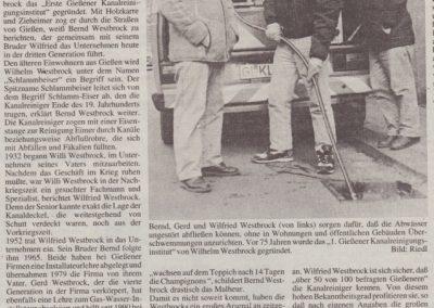 75 Jahre Westbrock