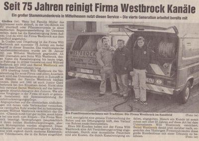 75 Jahre Westbrock II