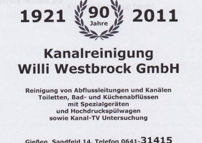 90 Jahre Westbrock